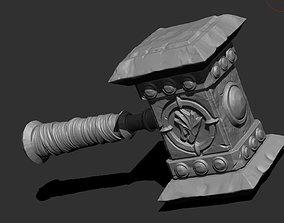 Frostmourne GORHAUL doomheamer 3weapon 3D print model 3