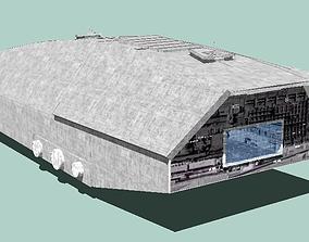 3D model Kuat CNK transport - Star Wars