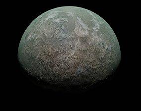 Green Tera Planet - 3D