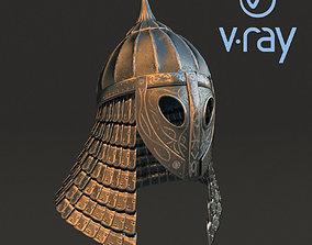 Medieval helmet 3d model 2 PBR