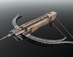 3D PBR Crossbow