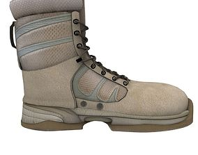 3D military boot