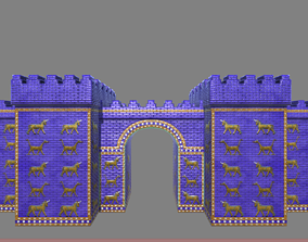 3D asset Ishtar Gate