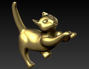 jewel Cat Pendant 3D print model