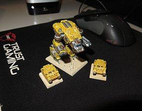 3D print model EPIC - ARMAGEDDON titan set 1 - The