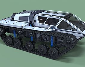 Tracked vehicle 8 3D model