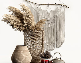 3D household Decorative Set Boho