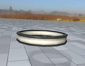 Ring for the Iron Power Pole 1 - Object 122 3D model