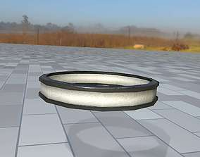 3D model Ring for the Iron Power Pole 1 - Object 122