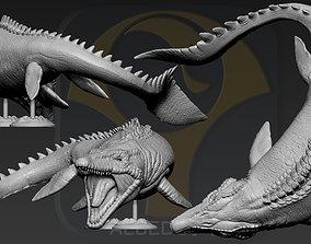 3D print model Mosasaurus