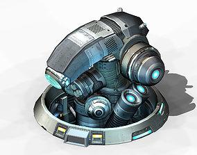 Spacecraft - Ground Objects 01 3D