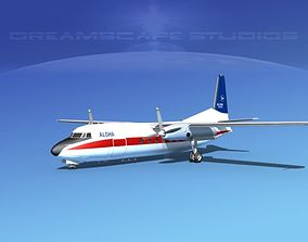 3D model Fairchild FH-27 Aloha