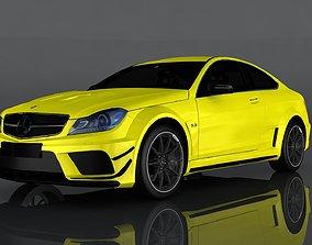 3D asset Mercedes-Benz C63