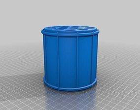 3D print model Drumstick storage drum