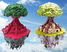Sky Island 3D print model