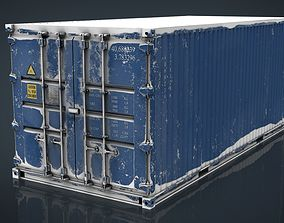 CONTAINER BLUE 3D model