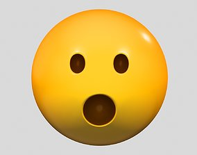 other 3D Emoji Face with Open Mouth