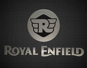 3D royal enfield logo