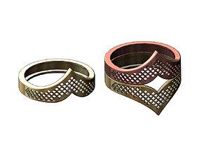 Moroccan beldi moucharabieh ring N04 3D print model