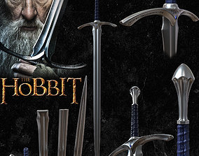 3D printable model GANDALF GLAMDRING SWORD - THE HOBBIT