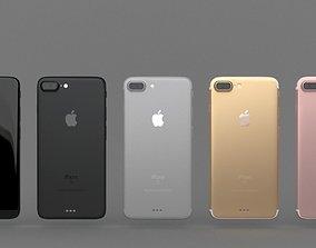 Iphone 7 pro 3D asset
