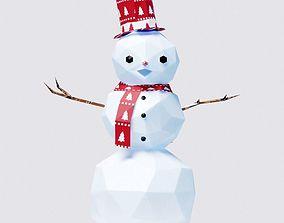 Christmas Decorations 3D asset