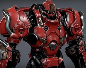 3D model Sci Fi Power Suit - Starter Pack