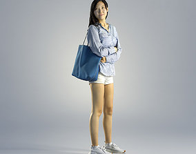 3D Woman Jess Casual Standing 001