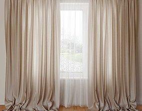 3D model Curtain 01