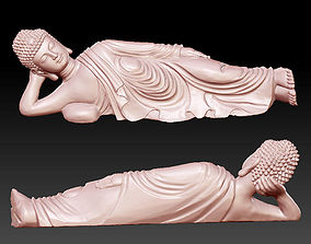sleeping buddha 3D printable model