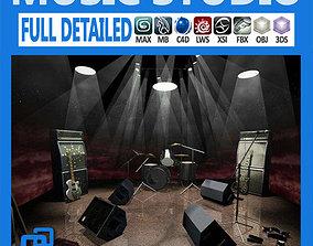 3D music Pack - Music Studio