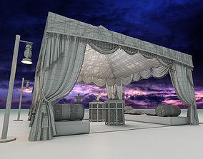 3D Arabic Tent
