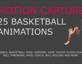 Basketball motion capture 3D