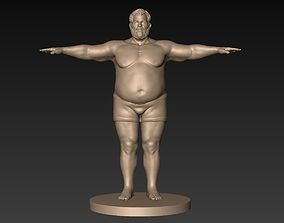 3D model Fatman Basemesh