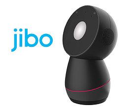 Jibo Robot Dark Gray 3D model