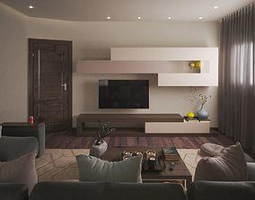 Living Room 3D room contemporary