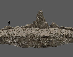 3D model VR / AR ready terrain