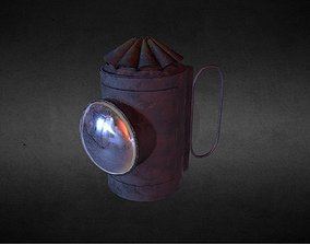 3D asset Police Lamp