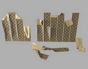 Peeling wallpaper 3D