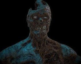 Mummy model 3D asset
