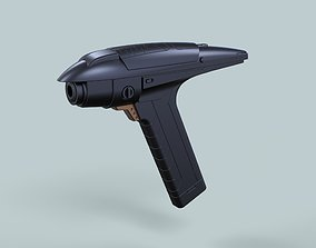 Phaser from Star Trek Discovery Section 3D printable model