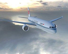 Boeing 787 Dreamliner Air China air 3D model