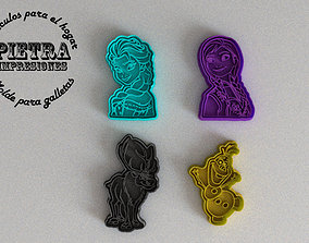 MOLDE CORTANTE PARA GALLETAS FONDANT 3D print model