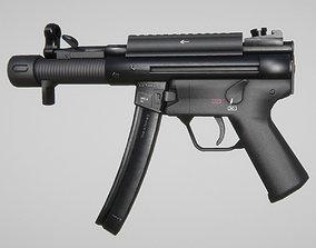 SP5K semi-automatic 9 mm gun 3D model