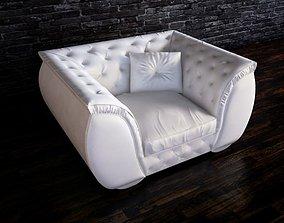 3D corte zari armchair
