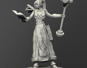 Fantasy Female Priest 3D printable model