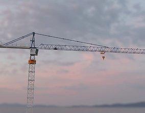 Hammerhead Tower Crane 6 - Construction Crane 3D model