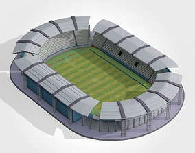 Lowpoly generic football soccer 3D asset
