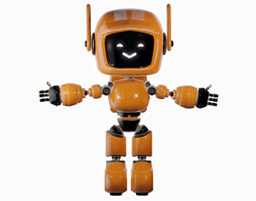 ORANGE ROBOT from LOVE DEATH AND ROBOTS 3D model