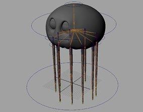 3D asset Rig Jelli